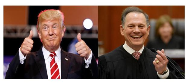 Trump and Moore