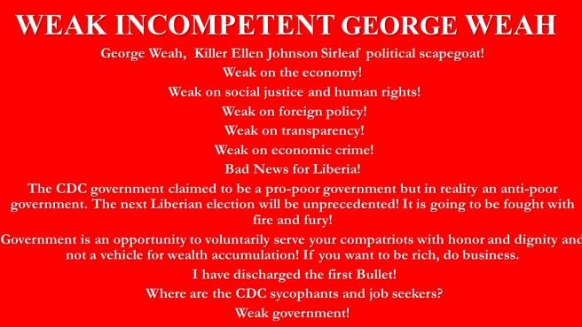 Weah George Weah
